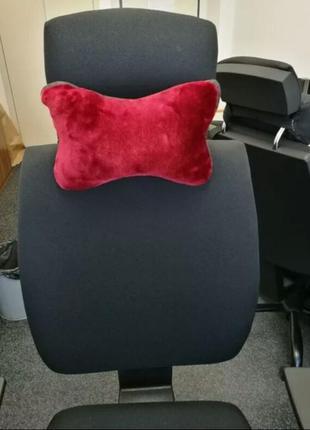 Подушка на подголовник, офисное кресло