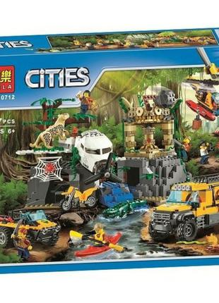 Конструктор Bela 10712 Cities База исследователей джунглей 857 де