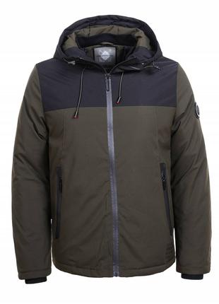 Мужская весенняя куртка ветровка c капюшоном от (GLO-STORY)