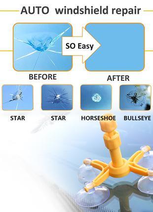Набор для ремонта трещин лобового стекла, восстановление трещин