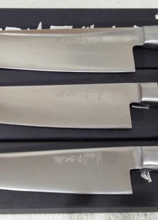 Нож Шеф-повара Япония. 21 см. 24см. 27 см. лезвие. 58 ед.твердост