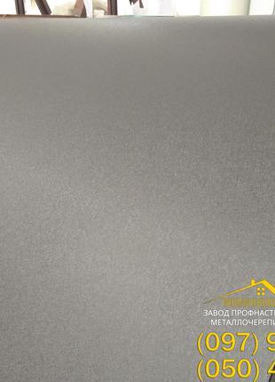 Матовый серый профлист Ral 7024, купить лист гладкий серого цвета