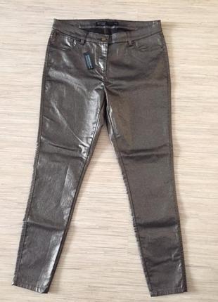Новые (с этикеткой) джинсы скини с напыление от next, размер а...