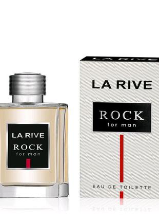 Мужская туалетная вода La Rive Rock for Man 100ml Ла рив Рок Мен