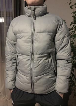 Мужской пуховик,куртка PULL&BEAR