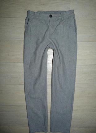 Котоновые штаны, брюки h&m 8-9 лет