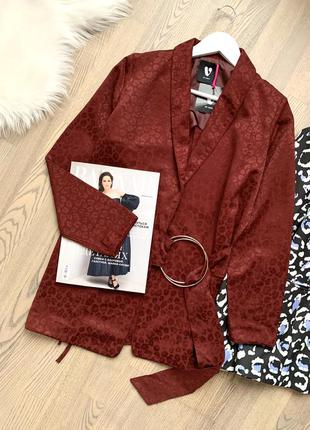 Пиджак бордо