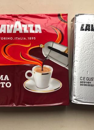 Кофе молотый Lavazza Crema e Gusto Ricco 250 гр. Италия