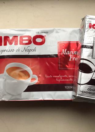 Кофе молотый Kimbo Macinato Fresco 250 гр. Италия