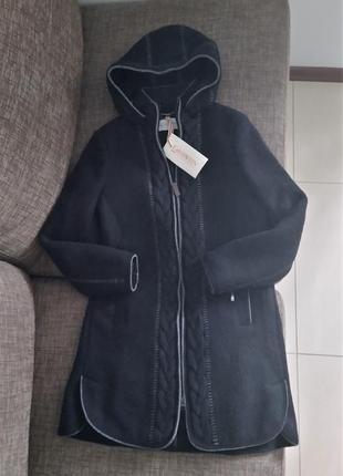Новое пальто giesswein, австрия 100% шерсть куртка полупальто ...