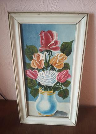 "Картина "" Праздник в вазе"""