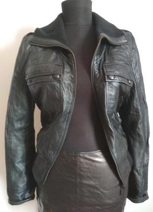 Куртка из натуральной кожи mexx