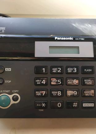 Телефон факс Panasonic KX-FT982
