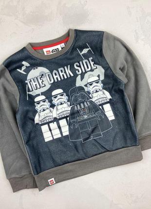Очень крутой флисовый пуловер star wars& lego, disney (ориги...