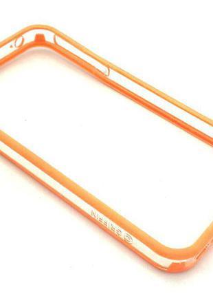 Чехол Бампер Griffin iPhone 4/4S Orange