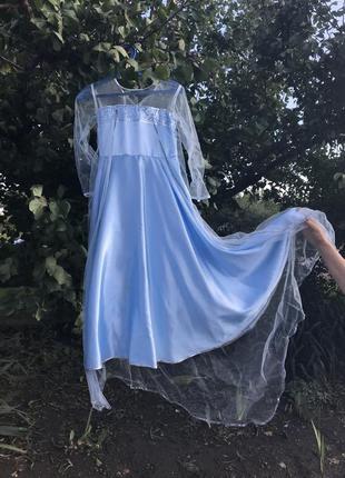 Платье эльза холодное сердце