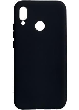 Силиконовый чехол бампер для Huawei P20 Lite