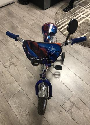 Велосипед детский на (3-7 лет) как новый