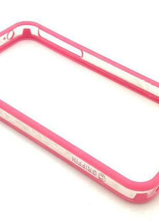 Чехол Бампер Griffin iPhone 4/4S Pink
