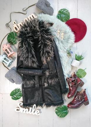 Распродажа!!! актуальное пальто дубленка кардиган №43
