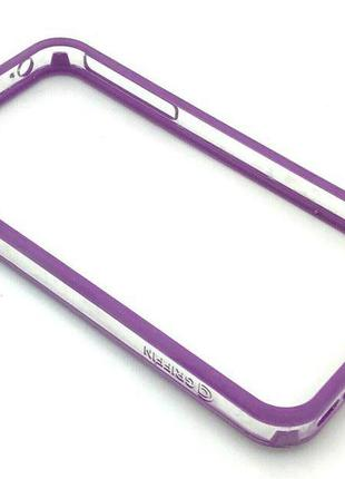 Чехол Бампер Griffin iPhone 4/4S Violet