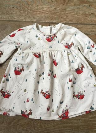 Next новогоднее платье для девочки к новому году