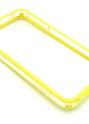 Чехол Бампер Griffin iPhone 4/4S Yellow