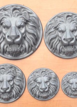 Литые львы для ворот кованных, калиток, заборов