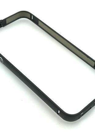 Чехол Бампер Metall iPhone 5/5S Black