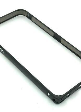 Чехол Бампер Metall Corner Lock iPhone 5/5S Black