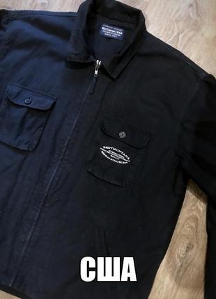 Крутая  брендовая  куртка ветровка  рубашка тренч парка ..сша