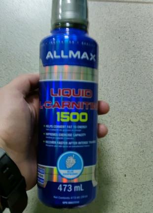 Карнитин L-carnitine liquid Allmax