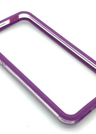 Чехол Бампер Plastic iPhone 5/5S Violet