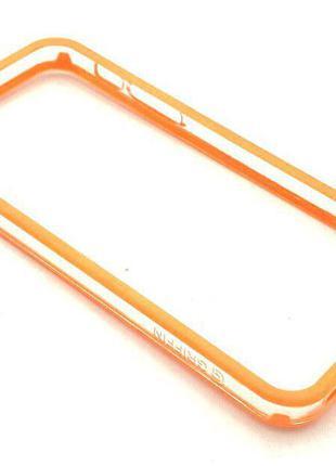 Чехол Бампер Griffin iPhone 5/5S Orange
