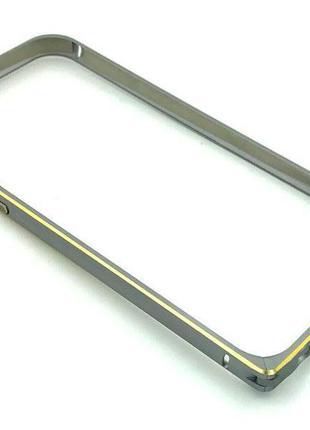 Чехол Бампер Metall Corner Lock iPhone 6/6S Silver