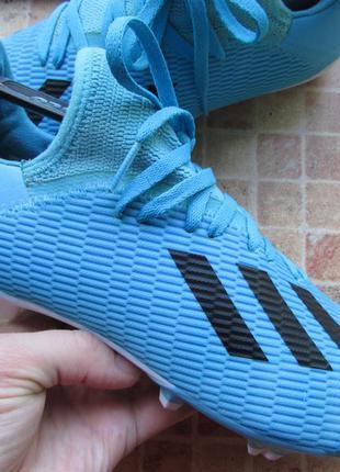 Бутсы футбольные adidas x 19.3 fg длина по стельке 24 см оригинал