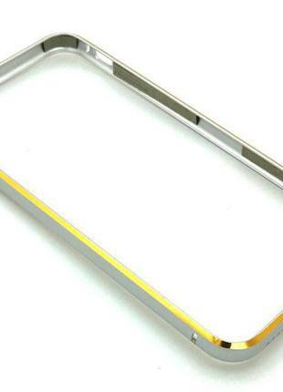 Чехол Бампер Metall iPhone 6/6S Silver