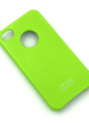 Чехол SGP iPhone 4/4S Green