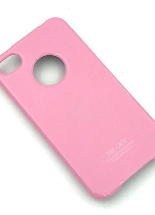 Чехол SGP iPhone 4/4S Pink