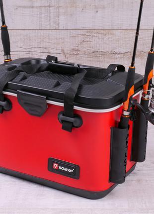 Сумка спиннингиста FanFish YZ-45 Red со съемным лотком