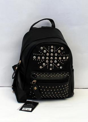 Рюкзак, ранец, женский рюкзак, эко кожа, маленький рюкзак