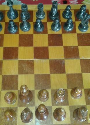 Шахматы ссср деревянные