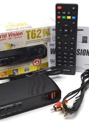 Т2 Тюнер World Vision T62M2 Лот 5 штук