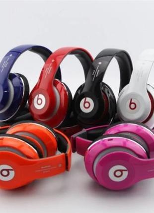 Наушники беспроводные Bluetooth Monster Beats TM-13 c Мощным Звук