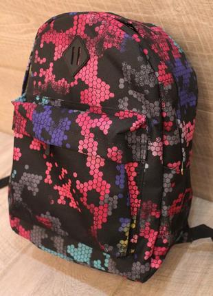 Рюкзак, ранец, городской рюкзак, соты,женский рюкзак