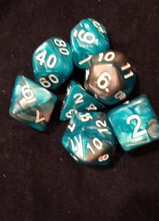 Кубики Дайсы Настольная Игра Dungeons Dragons Драконы РПГ RPG