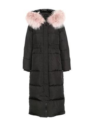 💣длинный зимний пуховик  💣 пуховое пальто натуральный пух 🦆   ...