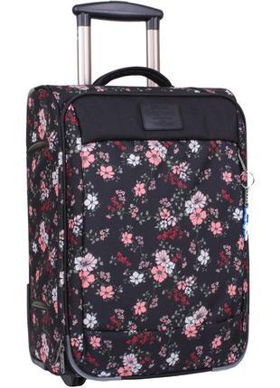 Чемодан, маленький чемодан, цветы, валіза, ручная кладь, самол...