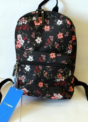 Рюкзак, ранец, городской рюкзак, женский рюкзак, цветы, малень...