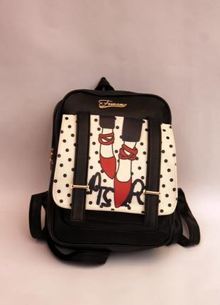 Рюкзак,ранец, эко кожа